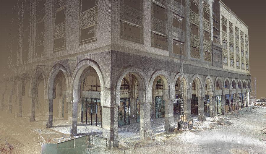 Tripoli (Libia), Scansione di un centro commerciale