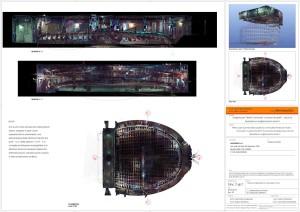 Teatro Pavarotti Modena, rilievo laser scanner 3D